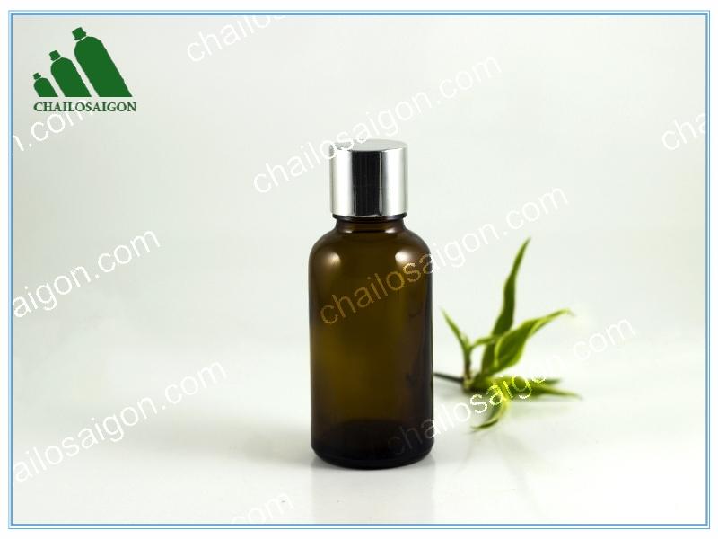 Chai tinh dầu thủy tinh 30ml nâu