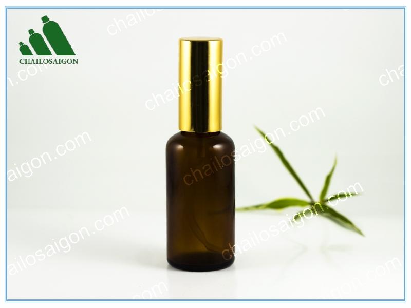 chai lọ tinh dầu 50ml thủy tinh gia rẻ