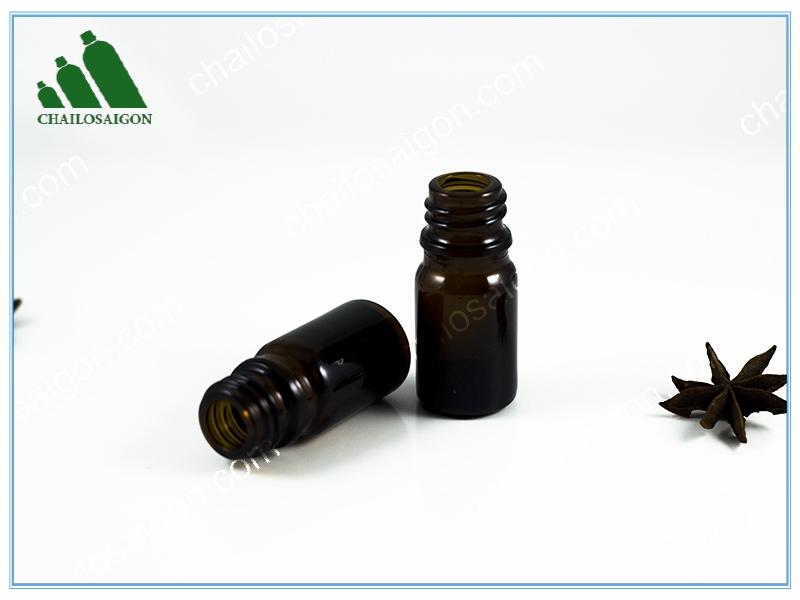 Chai tinh dầu thủy tinh 5ml giá rẻ