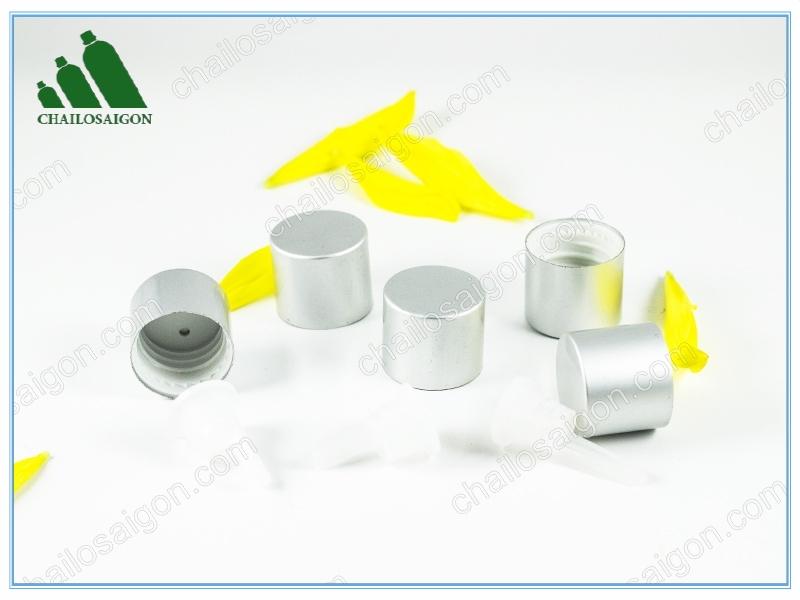 nắp chai tinh dầu bạc xi mờ giá rẻ