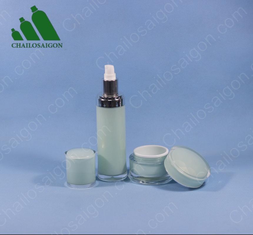 Bộ chai lọ mỹ phẩm dưỡng da cao cấp AC-85
