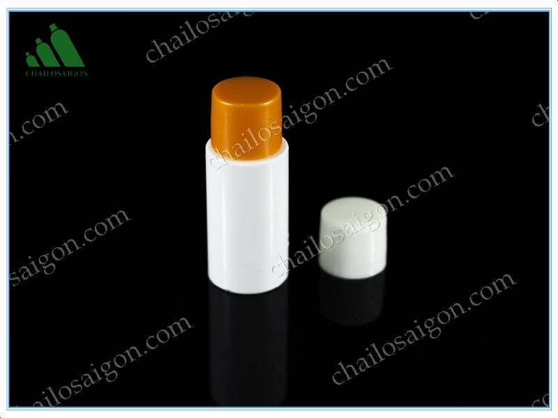 chai nhựa trắng 15ml nắp xoáy ren