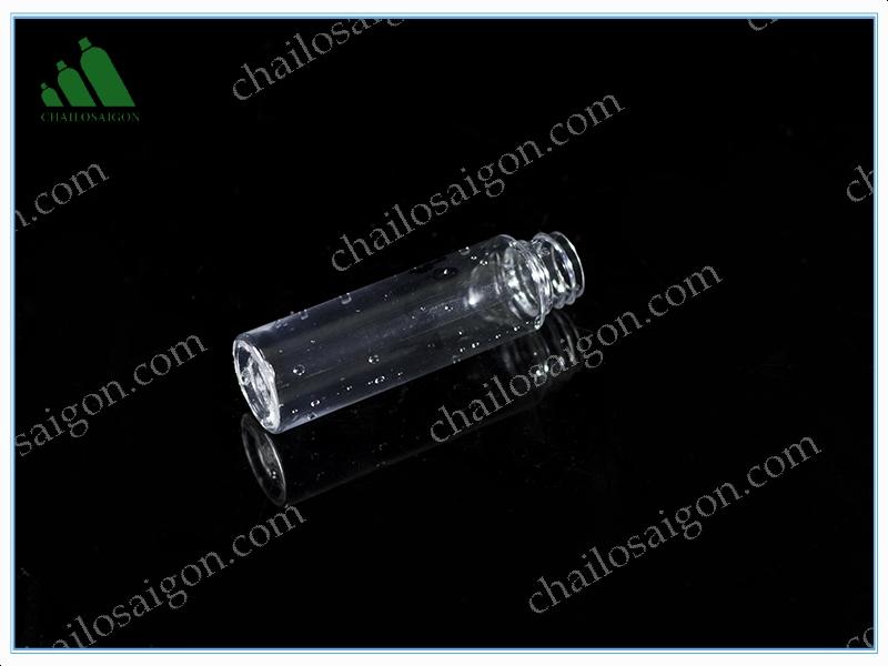 Chai nhựa trong suốt 25ml