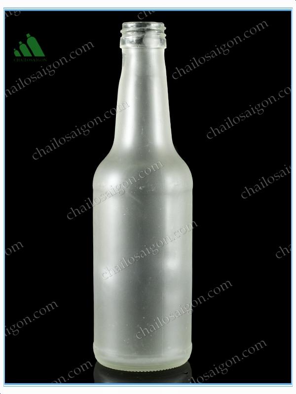 cung cấp Chai rượu chất liệu thủy tinh HCM